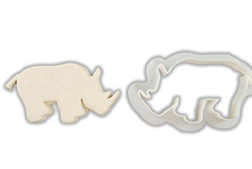 rhinoceros cookie cutter - 1