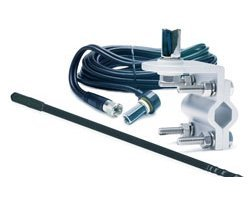 TruckSpec TSPS-14KB Platinum Series Black 4' Single Mirror Mount CB Antenna Kit (1000 Watts)