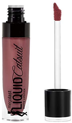 wet n wild Megalast Liquid Catsuit Lipstick, Rebel Rose, 6 Gram (Rebel Matte)