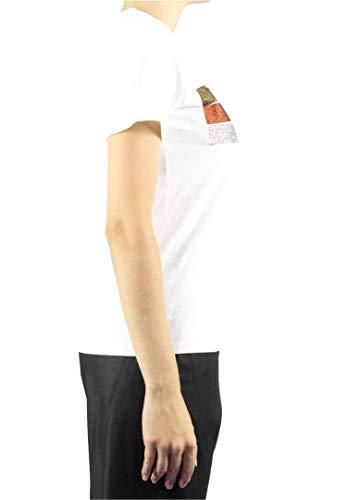 T Femme Shirt Blanc S746 DONDUP 5qgnpap