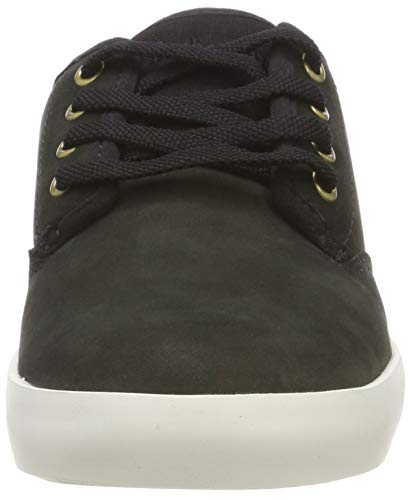 Timberland Noir black Baskets Ox 1 Leather Dausette Femme vwHrvS