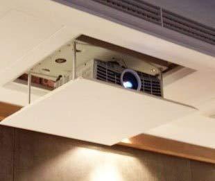 Projector Lift Model - Ochoos 1.5meter Lift Motorized Electric Lift Scissors Ceiling Projector Mount Bracket Elevator Projector Remote Control 220v Ceiling - (Color: Load 10kgs(1Motor))