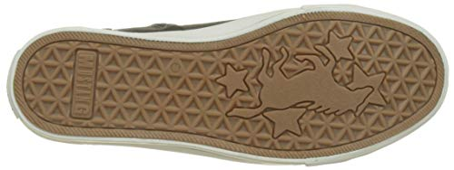 Hautes Mustang Baskets Top graphit 259 Gris Femme Sneaker High RaxarIwqg