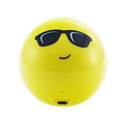 Amazon.com: Gabba Goods Sunglasses Emoji Bluetooth Speaker ...