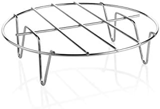 Heißluft-Kombi-Ofen / Umluft Fritteuse mit Pizza & Backform 3,2 Liter 1400 Watt, Aerofryer mit digitalem Display