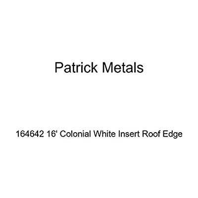 Patrick Metals 164642 16' Colonial White Insert Roof Edge
