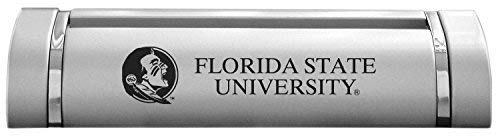 Florida State University-Desk Business Card Holder -Silver