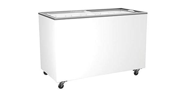 congelador con tapa corredera de cristal 416 litros congelador ...