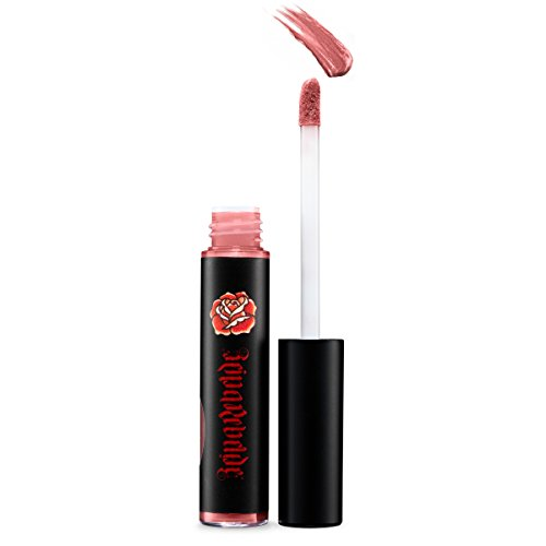Lip Gloss by Reina Rebelde | Long Lasting Metallic Rose Lip Gloss with High Shine | Best Selling Cruelty Free Makeup | Virgen Color