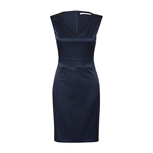 Steps Damen Kleid Einfarbig Sam Satin Collection Women Dresses W Sam Satin Dress