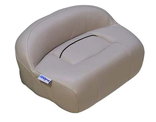 DeckMate Lean Pro Fishing Seat (Tan) - Pro Casting Seat