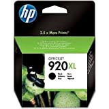 Hewlett Packard Genuine No.920XL Black Ink Cartridge - Hp 920XL black ink cartridge high capacity