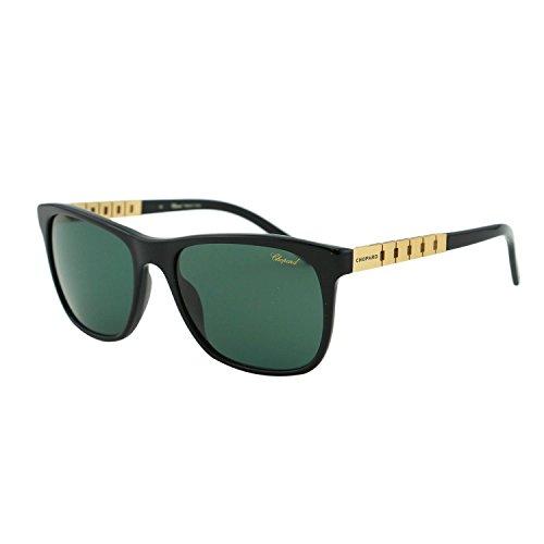 Chopard G.P.M.H. SCH 152 700P Men Black Rectangular Wayfarer Polarized Sunglasses (Sunglasses For Men Chopard)