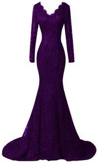 Silk Formal Gown - 4