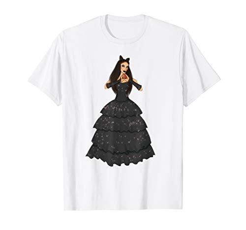 Halloween Brunette Witch Costume Shirt