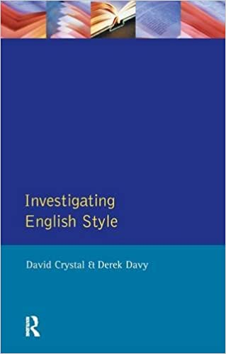 Book Investigating English Style