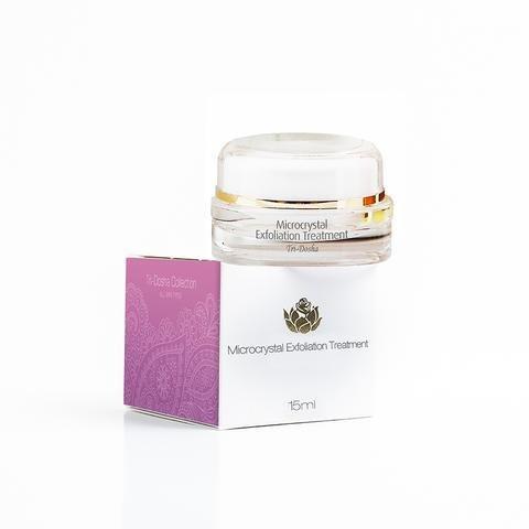 Herbal Exfoliator (Shankara Microcrystal Exfoliator- 100% Herbal Facial Scrub for Face & Neck with Algae-Aloe Gel, Ultra- fine Silica Crystals, Natural ingredients (15 ml))