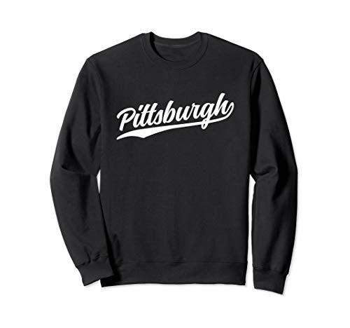 Pittsburgh Pennsylvania Cool PA Retro Sweatshirt (Dark)]()