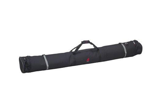 Athalon Expanding Padded Double Ski Bag (Black, - Bag Padded Double Ski
