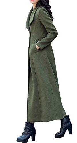 Plaer Para Ejercito Verde Chaqueta Mujer nzq86n4FB