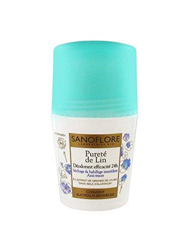 Sanoflore Purete De Lin Organic Aluminum Free 24hr Deodorant