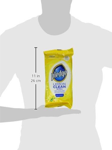 Pledge Lemon Enhancing Wipes 24 ct - 6