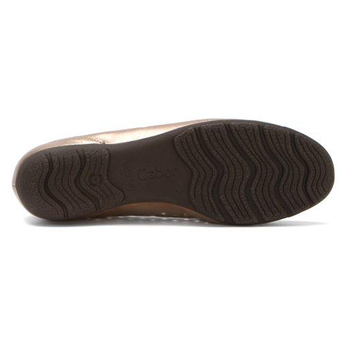 Gabor Perforated Ballet Flat 84.169 Mutaro
