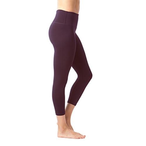 5c67cca917 90 Degree By Reflex – High Waist Tummy Control Shapewear – Power Flex Capri  - Napa