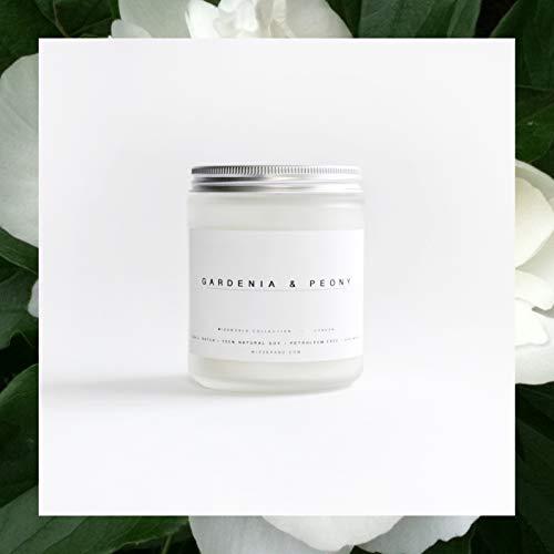 Gardenia + Peony Soy Candle   8 oz ()