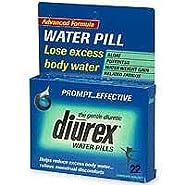 Diurex Advanced Formula Water Pills - 22 Ea