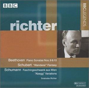 Beethoven: Piano Sonatas Nos. 9 & 10, Opp. 14:1,2 / Schubert: Wanderer Fantasy, d. 760 / Schumann by BBC Legends
