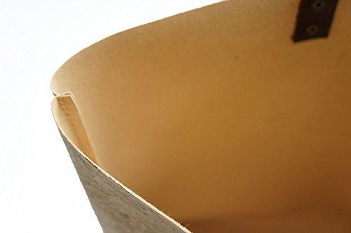 Wind Piel Corcho Bolso 3 Con Knots De Detalles Marrón Color 0x7aBa