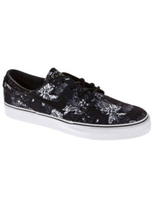 Nike Zoom Stefan Janoski Skate Shoe - Men's Black/White/Sail/Black, 12.0