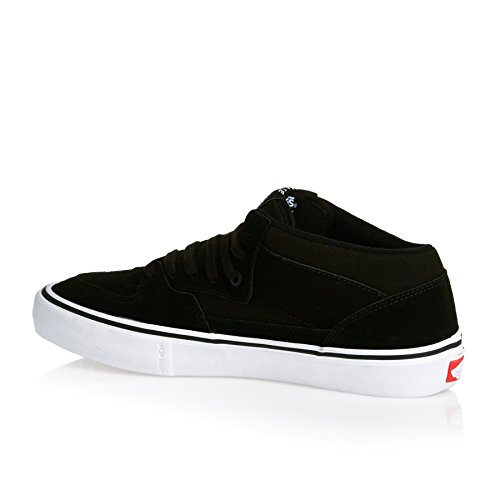 M Pro Cab Women D White 9 Half Shoes B 8 US M Vans 5 Black Black US xHwTq77