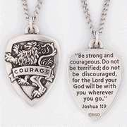 Necklace Courage Shield 24 Chain product image