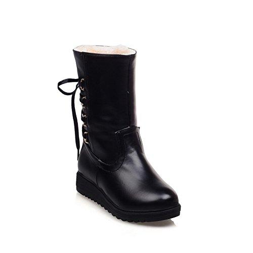 1TO9 Botas de nieve mujer negro
