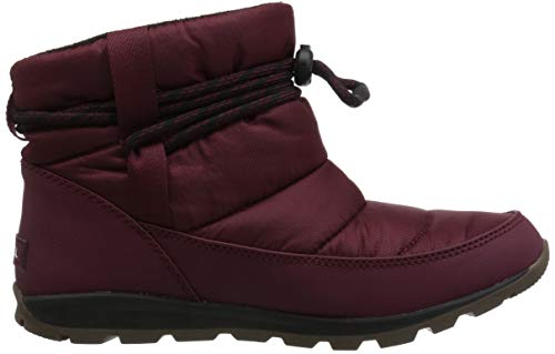 Black WHITNEY Rich Stiefel Damen SHORT Sorel Wine WUaqOPOw
