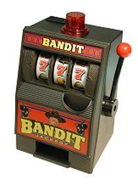 - Radica Bandit Savings Slot Bank Machine