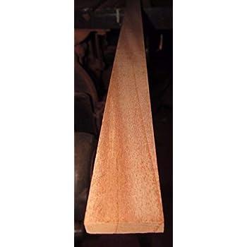 "Spanish Cedar Lumber  5/"" X 48/"" X 1//4/""  planed 2 sides"