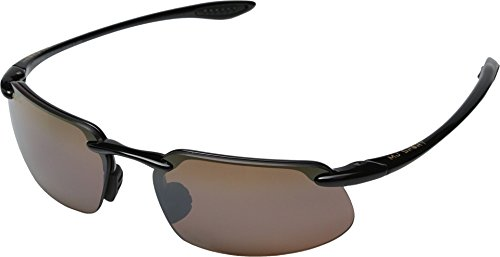 Maui Jim Kanaha Sunglasses,Gloss Black Frame/HCL Bronze Lens,one - For Sunglasses Fishing Polarised