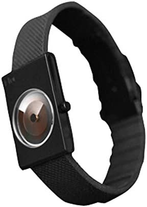 I-TOC Watch – Black – Museum Modern Art Design with blackout case and dial