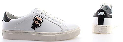 Karl Lagerfeld Kupsole Karl Ikonik Lo Lace Damen Sneaker Weiß