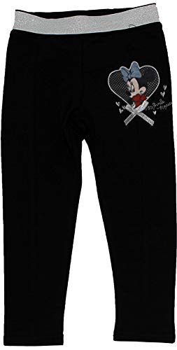 Minnie Mouse Girls Jogging Bottom Trousers Black 2-3 Years by Disney (Image #1)