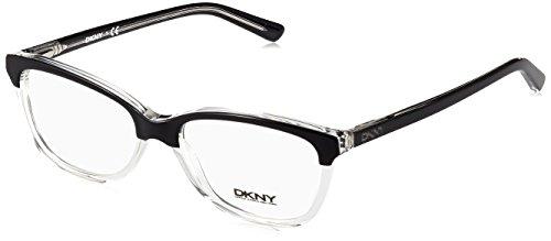 DKNY DY4662 Eyeglass Frames 3670-52 - Top Black On - Lens Dkny
