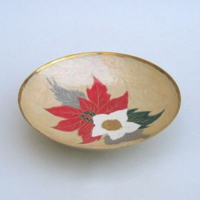 India Overseas Trading Corporation BR3137 - Solid Brass Christmas Bowl by India Overseas Trading Corporation
