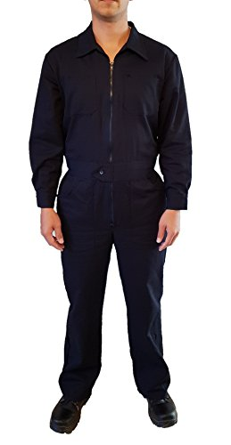 DOFER Mens Coveralls Long Sleeve Shop Coveralls Welding Overalls Mechanic Janitor (L) for $<!--$29.99-->