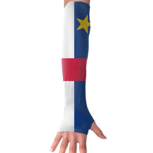 LAPAD7 Flag Of The Central African Republic Arm Sleeve Cooling Arm Compression Outdoor Cycling Bicycle Arm Long Sleeve For Adults Kids - African Hottest Girls