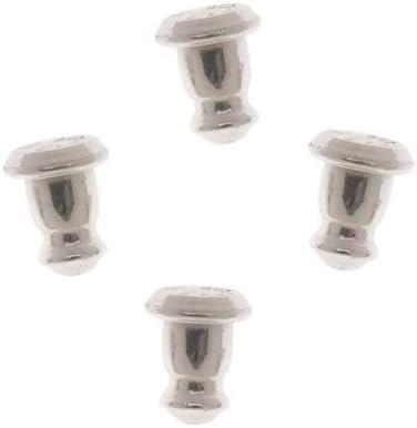 4 Sterling Silver Bullet Clutch Earring Backs