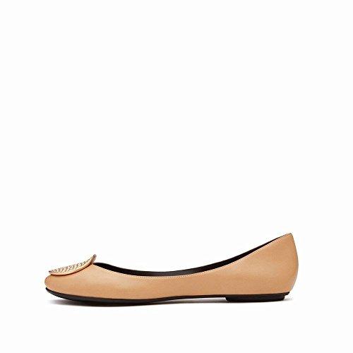 Bouche E Ballet avec Chaussures Chaussures de NSX Peu des Plates Plates Chaussures Et Profonde Printemps Été PZZRtT