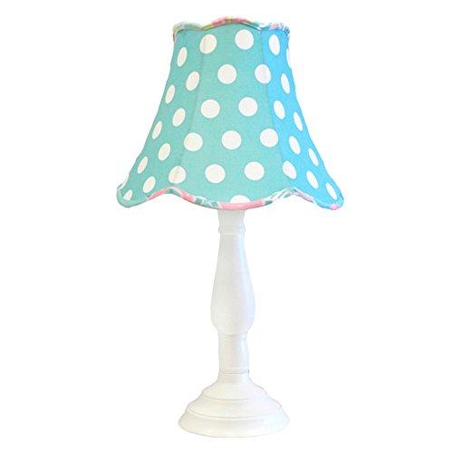 My Baby Sam Pixie Baby Lamp Shade/Base, Aqua and ()